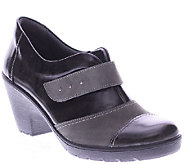 Spring Step Leather Wedges with Lug Outsole - Intuitive - A338081