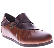 Spring Step LArtiste Leather Slip-ons - Clove - A338181