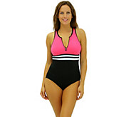 Fit 4 Ur Long Torso Hi Neck Tank with Zipper - A339781