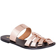 Nomad Leather Slide Sandals - Perth - A340281