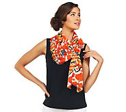 Joan Rivers Tribal Print Scarf - A225182