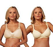 Breezies Choice of Underwire or Wirefree Microfill Bra - A225682