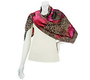 Jungle Paint Square Scarf - A228582