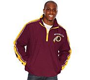 NFL Half-Zip Lightweight Pullover Jacket - A255682
