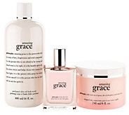 philosophy beautiful you grace fragrance 3-piece collection - A257782