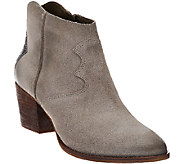 Marc Fisher Suede Ankle Boots - Stefani - A269682