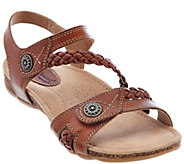 Earth Origins Leather Multi-strap Sandals - Tracy - A274782
