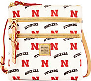 Dooney & Bourke NCAA University of Nebraska Zip Crossbody - A283482