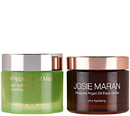 Josie Maran Whipped Argan Face Butter & Cucumber Mud Mask Duo - A288382