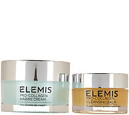 ELEMIS Pro-Collagen Marine Cream & Travel Size Cleansing Balm - A295782