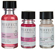 Perfect_Formula Pink Gel Coat w/ _Mini Powder Pink & Mini Ruby - A301182