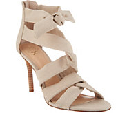 Vince Camuto Linen Multi Strap Sandals - Chania - A306382