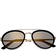 Breed Gemini Goldtone Titanium Sunglasses w/ Polarized Lenses - A361282