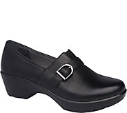 Dansko Closed Back Leather Clogs - Jane - A362082