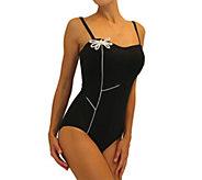 Fit 4 Ur Tummy Sweetheart Flower Bandeau Suit - A362982