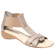 The Flexx Gladiator Inspired Leather Sandals -Band Together - A411582