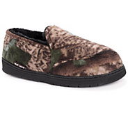QuietWear Mens Camo Espadrille with Fur Lining - A170083