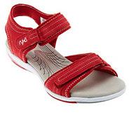 Ryka Suede Ankle Strap Sandals w/ Adj. Straps - A222783