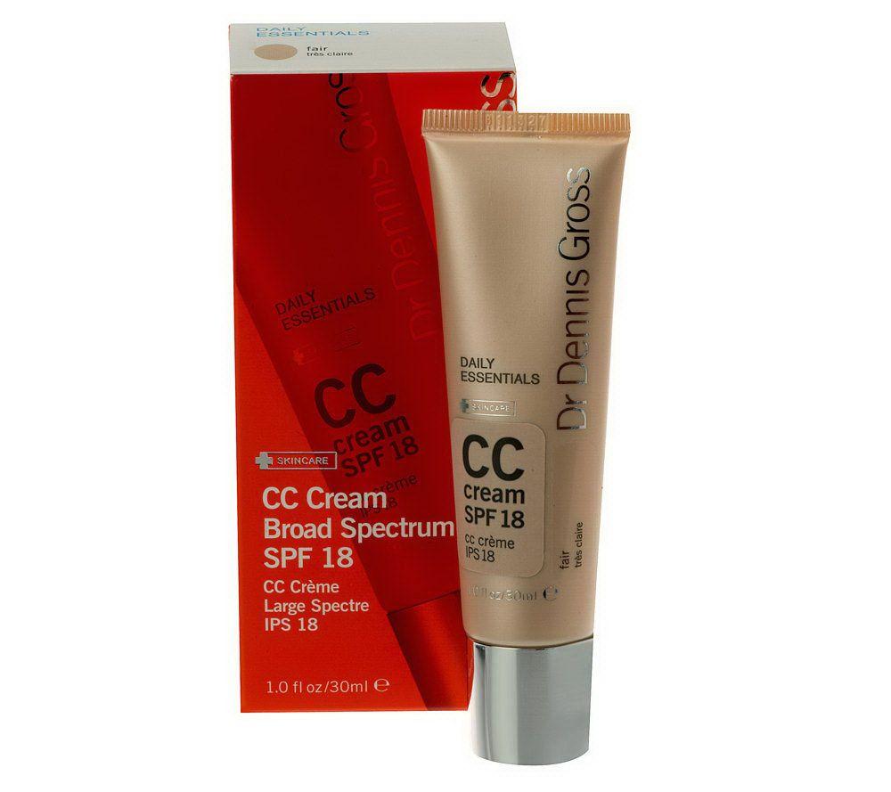 Dr. Gross Anti-Aging CC Cream, SPF 18