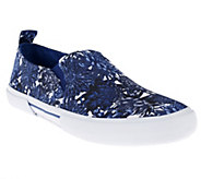 Isaac Mizrahi Live! Floral Printed Canvas Slip-On Sneakers - A251783