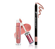 IT Cosmetics Perfect Lip Gloss Stain and Liner Stain Duo - A253483