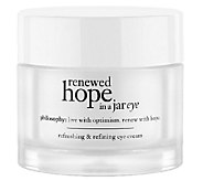philosophy renewed hope refining eye cream 0.5 oz. Auto-Delivery - A267683