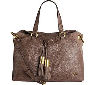orYANY Lamb Leather Satchel Bag- Kacie
