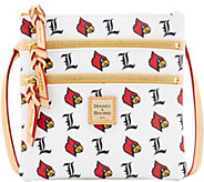 Dooney & Bourke NCAA University of Louisville Zip Crossbody - A283483