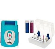 Emjoi Micro Pedi Nano Pro Callus Remover  w/ Manicure Kit - A283583