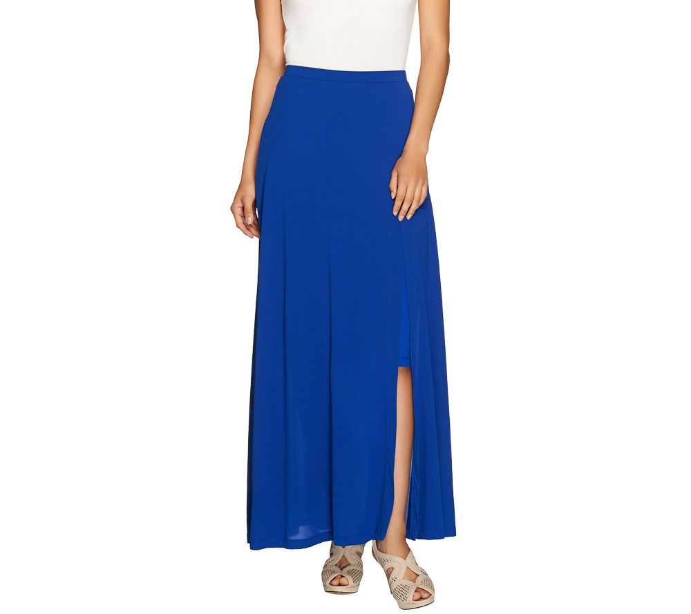 quot as is quot rinna collection pull on knit maxi skirt