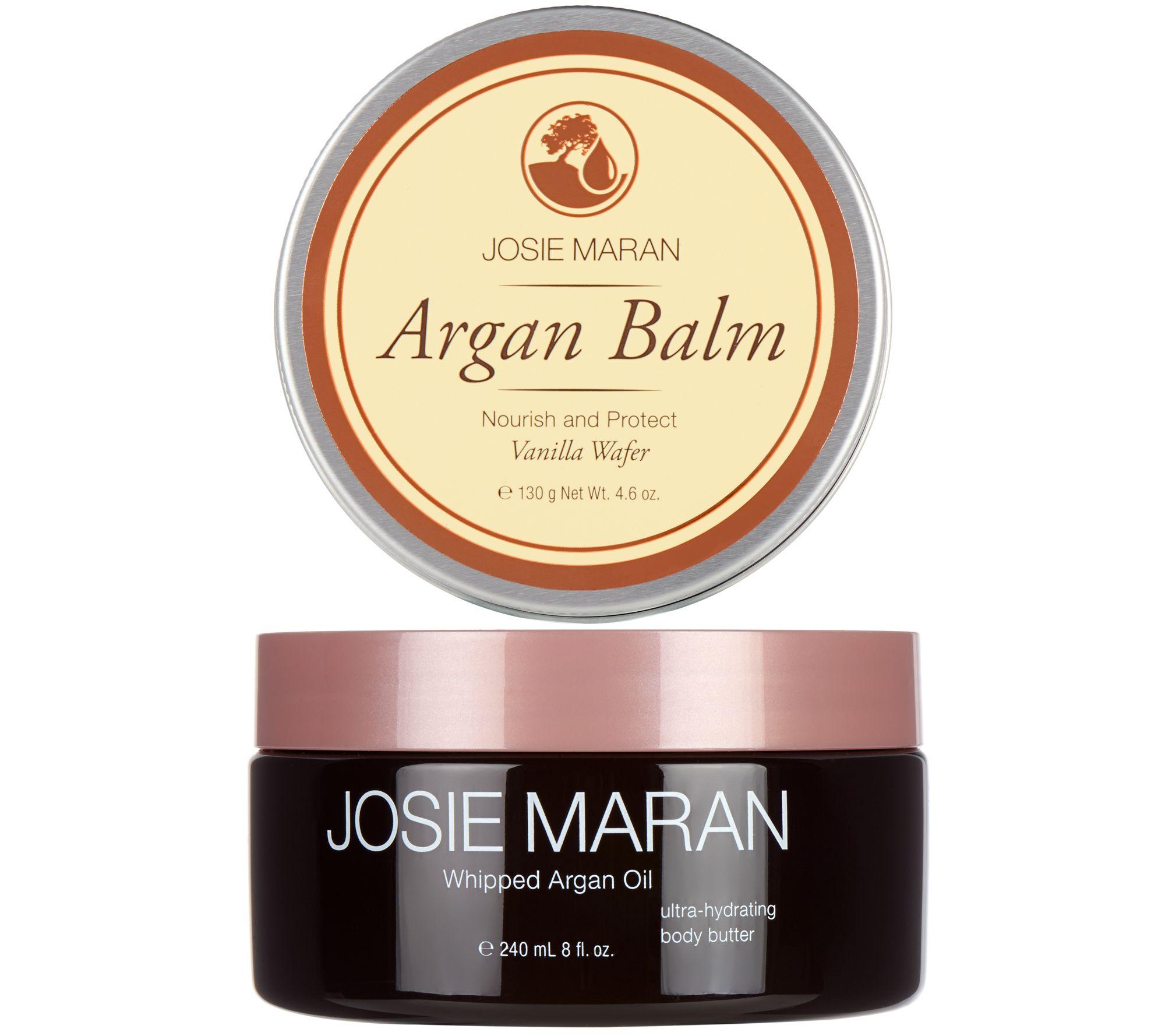josie maran body butter balm duo in vanilla wafer page 1. Black Bedroom Furniture Sets. Home Design Ideas
