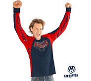 NFL Mens Hands High Long Sleeve Top by Jimmy Fallon - A296283
