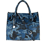 G.I.L.I. Leather Wing Camo Satchel - A299083