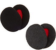 Sprigs Set of 2 Pairs Fleece Earbags Lined with Thinsulate - A299783