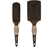 WEN by Chaz Dean Set of 2 Paddle & Sculpting Brushes - A303283
