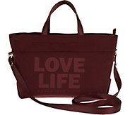 Peace Love World Lunch Tote with Strap - A305183