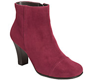 Aerosoles Ankle Boots w/ Heel Rest Technology -Scrole Book - A333983