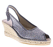 Azura by Spring Step Wedge Espadrille Sandals -Boltz - A336383
