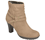 Aerosoles Leather Heel Rest Boots  - Ment To Be - A337883