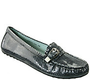 David Tate Leather Moccasins - Tiffany - A339583