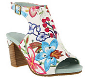 LArtiste by Spring Step Leather Sandals - Tapestry - A363683