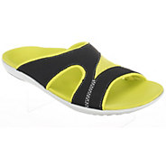 Spenco Tori Orthotic Slide Sandals w/ Mesh Detail - A234484