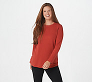 Denim & Co. Active Regular French Terry Tunic - A239284