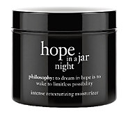 philosophy hope in a jar night moisturizer 4oz Auto-Delivery - A254684