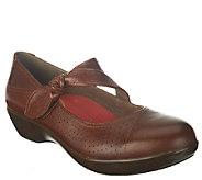 Dansko Leather Mary Janes w/ Knot Detail - Deidra - A258084