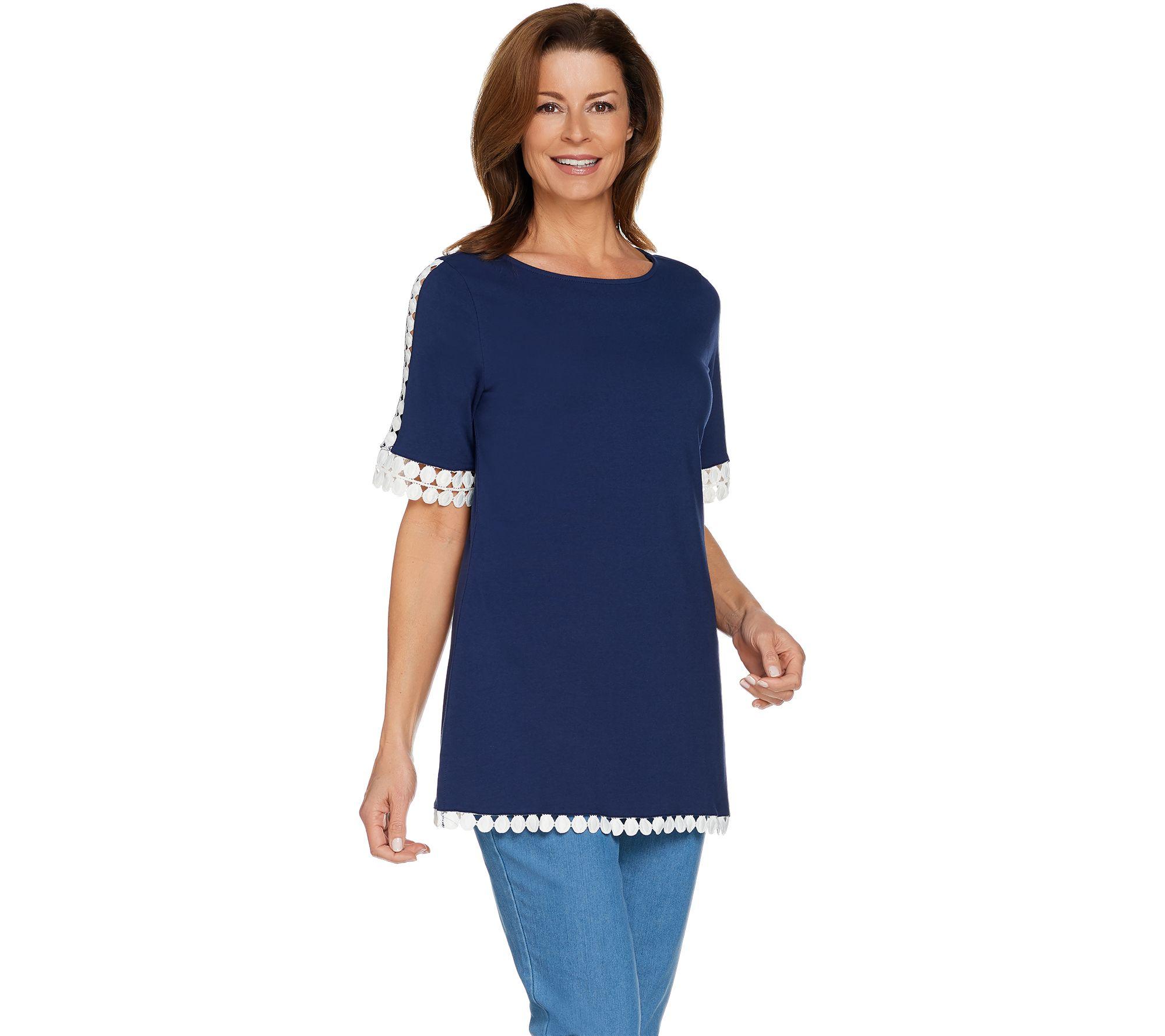 Denim & Co. — Blouses & Tops — Fashion — QVC.com
