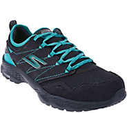 As Is Skechers GOwalk Suede Outdoor Lace-up Hiker - Journey - A291784