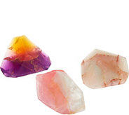SoapRockettes Spring Wonder Set of 3 Gemstone Soaps - A293684