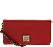 Dooney & Bourke Pebble Leather Daphne Crossbody Handbag - A296684