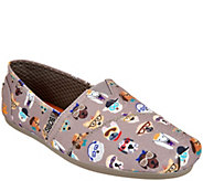 As Is Skechers BOBS Smart Dog Slip-Ons - Plush Pup Smart - A297484